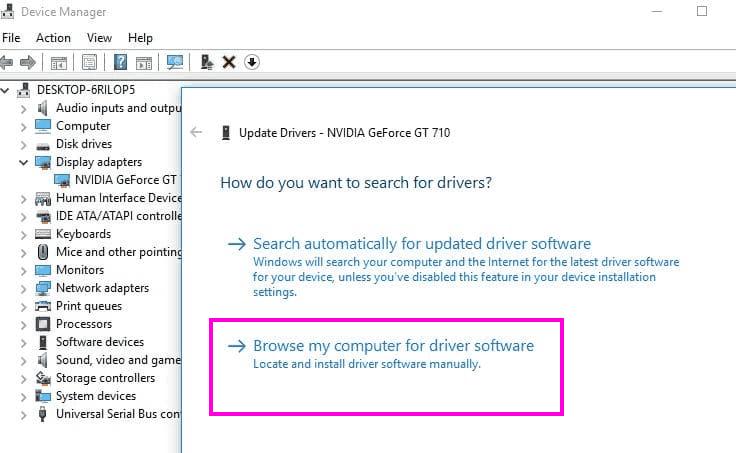 Update Manual Fix Nvidia Installer Cannot Continue Error Windows 10