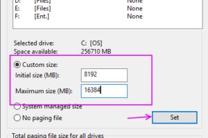 Virtual Memory Allocation