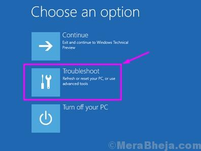 Windows Setup Troubleshoot
