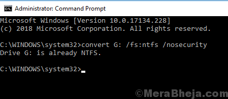 Command Prompt Method