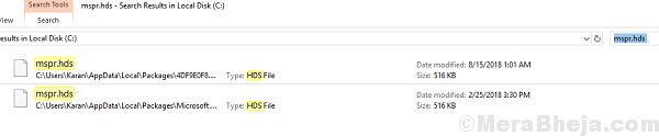 Searc For The Mspr File error code m7363 1260 00000021