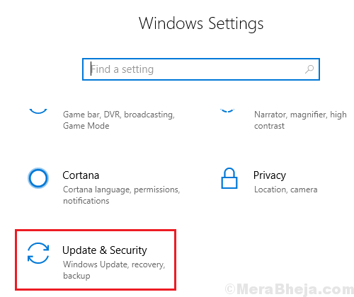 Updates And Security