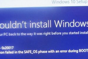 We Couldn't Install Or Update Windows 10 – 0xc1900101 Error