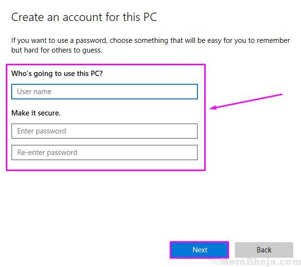 Add Username Password Create An Account