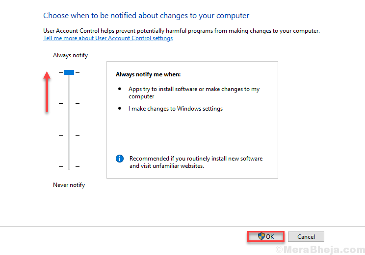 Change User Account Control Settings 1