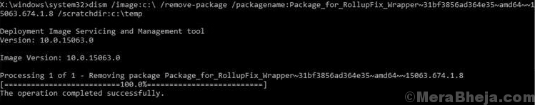 Del Package Inaccessible Boot Device Windows 10
