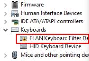 Elan Keyboard Min