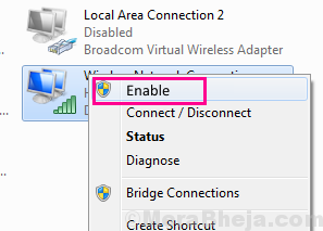 Enable Ethernet Doesnt Have A Valid Ip Configuration
