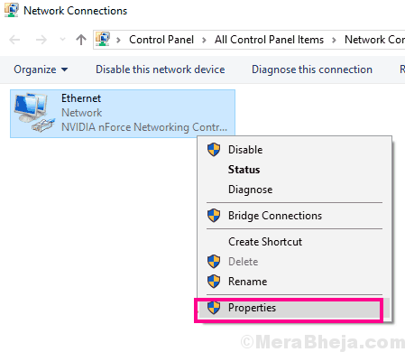 Ethernet Prop Ethernet Doesnt Have A Valid Ip Configuration