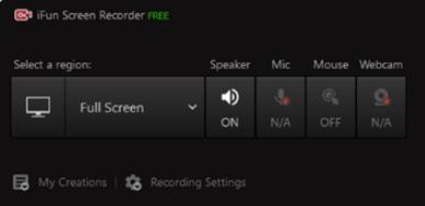 Iobit Free Screen Recorder Min