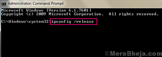 Ip Config Release