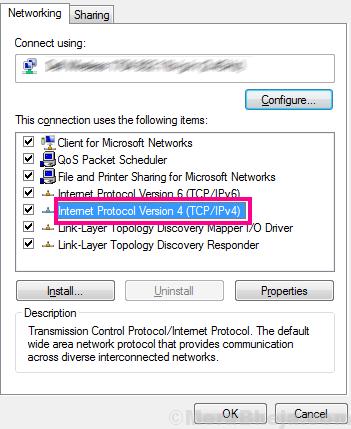 Ipv4 Ethernet Doesnt Have A Valid Ip Configuration