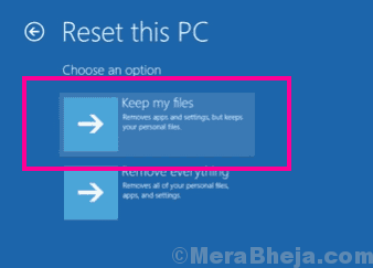 Keep Inaccessible Boot Device Windows 10