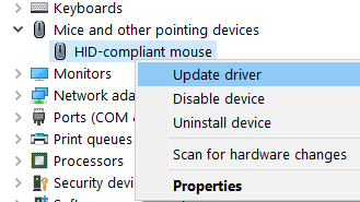 Mouse Driver Update Min