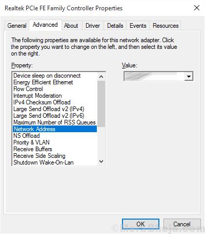 Net Address Ethernet Doesnt Have A Valid Ip Configuration