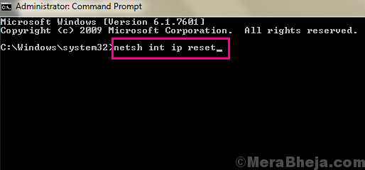 Netsh Ip Ethernet Doesnt Have A Valid Ip Configuration