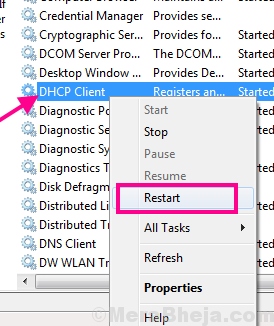 Restart Dhcp Ethernet Doesnt Have A Valid Ip Configuration