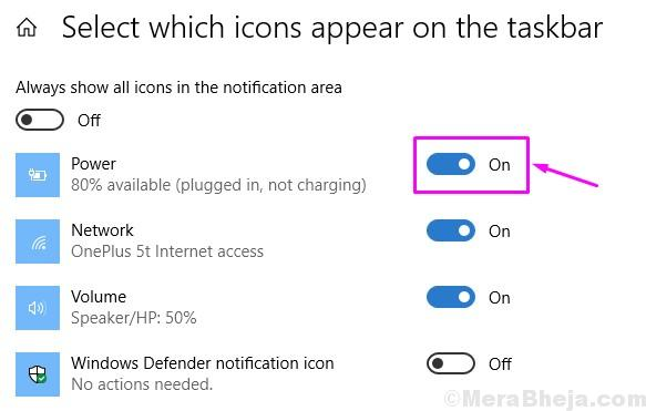 Select Which Icons Appear On The Taskbar 1