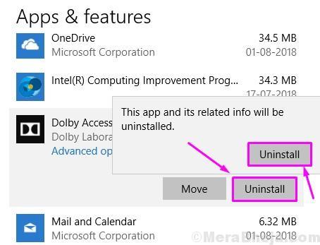 Uninstall Apps