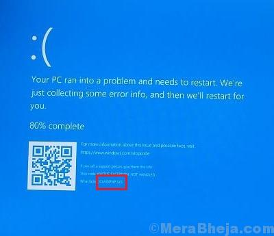Classpnp.sys Blue Screen In Windows 10
