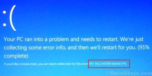 Fat File System Error