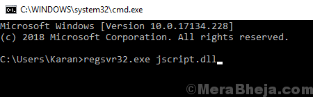 Register Javascript