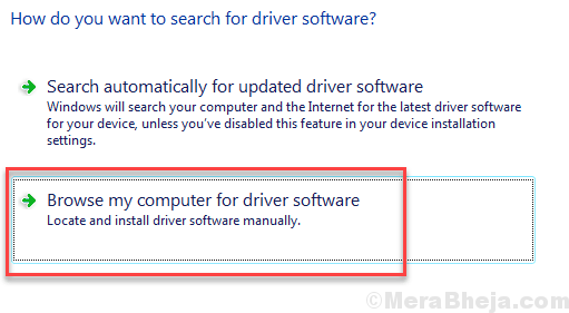 Manually Update Driver