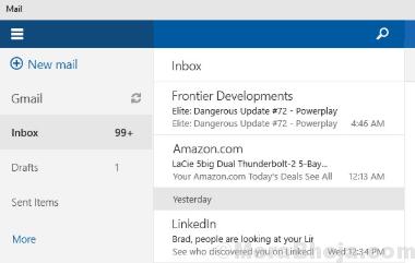 Microsoft Mail Calendar Min