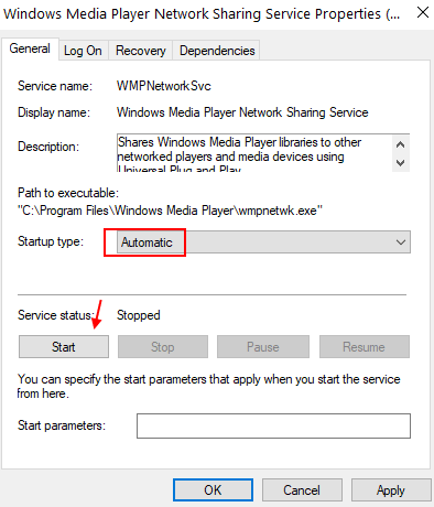 Windows Media Network Servie Min