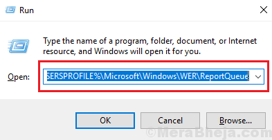 Delete The System Queued Windows Error Reporting Files Manually