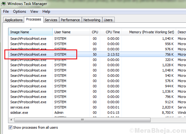 High Cpu Usage Due To Windows Search Indexer