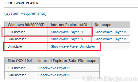 Install Shockwave Player