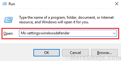 Run Command For Windows Defender