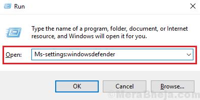 Run Command For Windows Defender