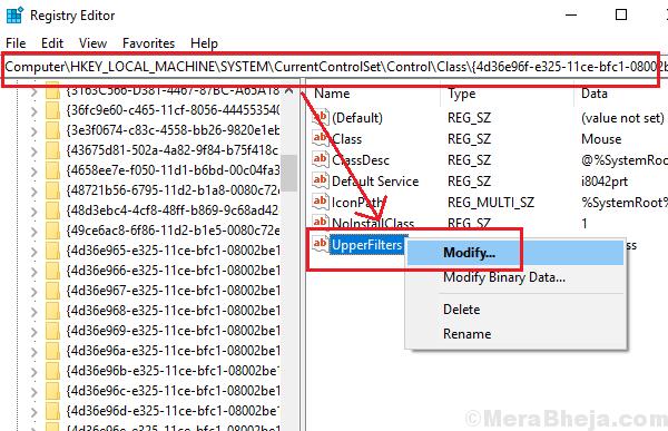 Registry Level Fix