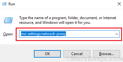 Run Command For Proxy Window