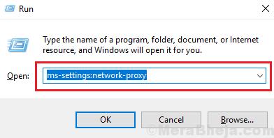 Run Command For Proxy Window