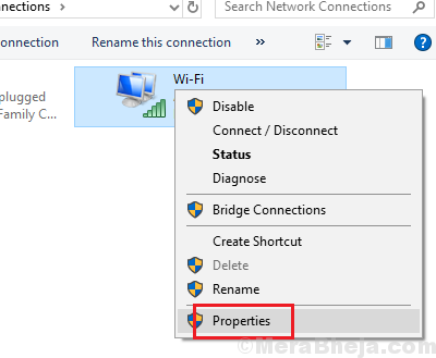 Select Wifi Properties