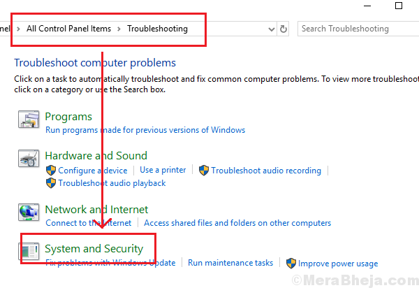 Troubleshooting System And Security