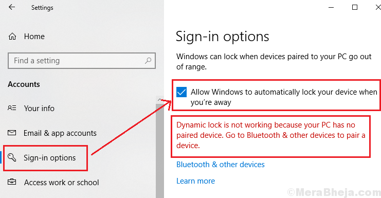 Windows 10 Dynamic Lock Is Not Working Or Missing