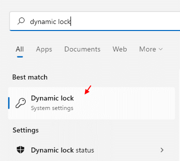 Dynamic Lock Min
