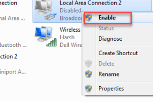 Enable Ethernet
