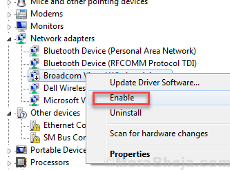 Enable Ethernet Driver