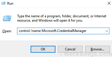 Microsoft Credential Manager Min