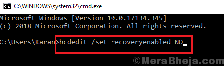 Recoveryenabled
