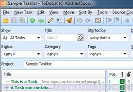 Todolist Abstract Spoon 1 Min