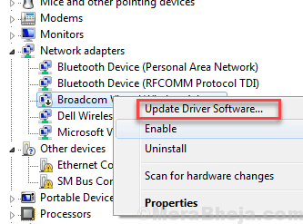 Update Ethernet Driver