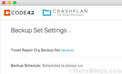 Crashplan Backup Tool