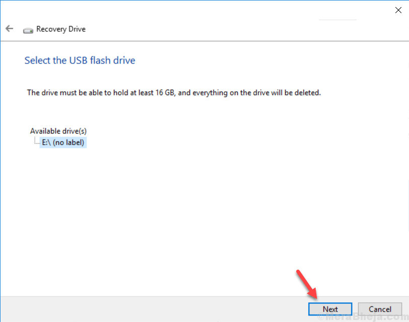 Create Recovery Drive Usb Windows 10