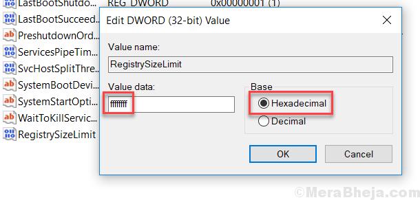 Hexadecimal Min